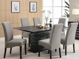 Dining Room Chair Fabric Ideas Satisfactory Design Of Leather And Fabric Dining Chairs Tags
