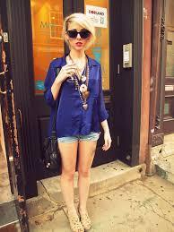 alysha nett sunglasses a million necklaces h m silk button up