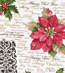 holiday inspirations christmas fabric poinsettia u0026 holly script