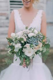 country wedding bouquets charming green and white country wedding bouquet the wedding