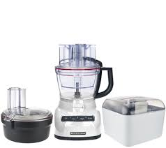 kitchen aid food processor kitchenaid 13 cup exact slice food processor with dicing kit