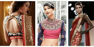 saree blouse styles blouse designs for veriety of sarees
