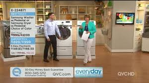 Front Load Washer With Pedestal Samsung Wf405 Front Load White Washer With Steam And Pedestal