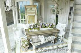 cinderella moments dollhouse shabby chic dining room set