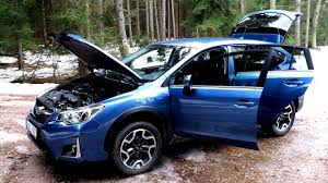 blue subaru crosstrek walkaround new subaru xv 2017 exterior interior starlink youtube