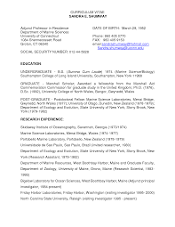 100 lecturer resume format cover letter for teaching