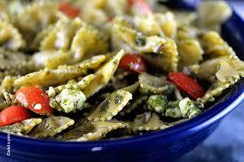 pasta salad recipes cold pesto pasta salad recipe add a pinch