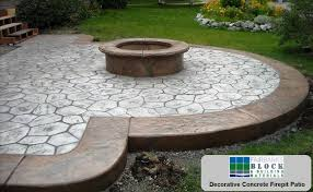 Concrete Firepit Decorative Concrete Products