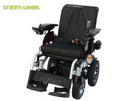 Drive Wheel Chair 12km H Handicap Carts Outdoor Four Wheel Drive Wheelchair With