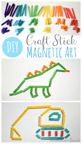 craft stick art for kids adventure in a box