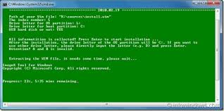 format hard disk bootmgr missing how to install windows 7 on usb flash drive or external hard drive