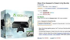 black friday deals on xbox one xbox one bundle black friday deal throws in assassin u0027s creed unity