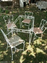 Salterini Patio Furniture Vintage Garden Furniture Collection On Ebay
