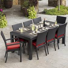 Bar Height Fire Table Shop Patio Furniture Sets At Lowes Com