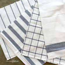 easy pillow covers made from dish towels the craft