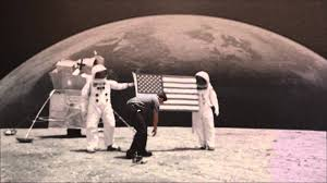 Moon Flag From Earth Michael And Son Plants Flag On The Moon Esb Advertising Youtube