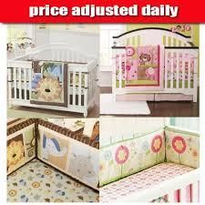qoo10 baby cot bedding set crib bed bumper cot sheet quilt