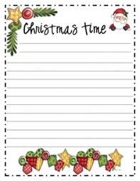 free printable writing paper to santa christmas writing paper free printable letter to santa lots of