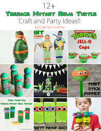 12 awesome ninja turtle kids crafts party ideas
