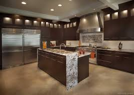 wenge kitchen cabinets home decoration ideas modern wenge cabinets island and two refrigerators vienna va