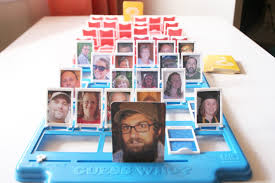 make your own personal guess who game the surznick common room