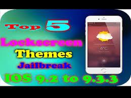 top 5 lockscreen themes compatible with ios 9 2 ios 9 3 3 cydia