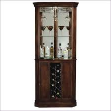 Mirrored Bar Cabinet Dining Room Magnificent Corner Wine And Liquor Cabinet Wine Rack