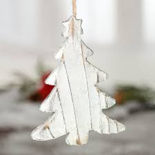 wooden christmas tree rustic white washed wood christmas tree ornament christmas