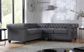 Chesterfield Corner Sofas Hton Chesterfield Ivory Leather Corner Sofa Only 1099 99
