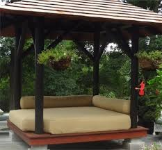 outdoor bed design inspirations for your inviting landscape