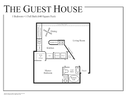 pretty plans for guest house beautiful 1 bedroom guest house floor plans inspirations with for