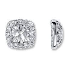 earring jackets dangle 53 diamond stud earrings with jackets earrings 14k