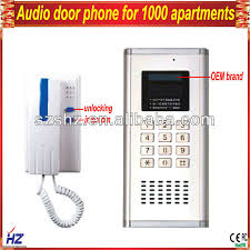 simple wire diagram audio door phone for 1000 apartments buy
