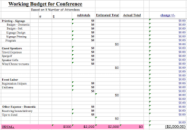 Detailed Expense Report Template by We Found All The Best Event Budget Templates Guidebook