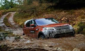land rover discovery 3 off road 2017 land rover discovery prototype drive u2013 review u2013 car and driver