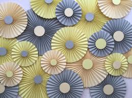 paper fan backdrop paper fans backdrop set of 20 great for baby shower https www