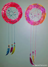 easy diy kid u0027s dream catcher kiddie matters