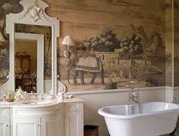 traditional wallpaper patterned hand painted handmade