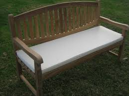 outdoor bench with cushion bench decoration