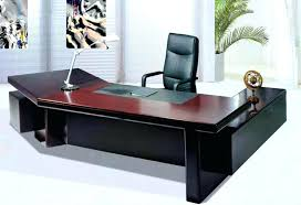 desk with shelves on side computer desks designs table for office white black colors wooden
