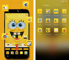 go launcher themes spongebob spongebob wallpaper theme apk download latest version 1 1 2 com
