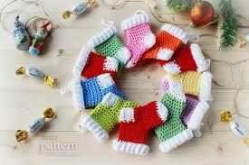 crocheted christmas crochet christmas ornaments pattern no 021 zoom