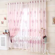 Patterned Curtains And Drapes Pearl Pink Tree Patterned Dreamy Unique Drapes And Curtains On Sale