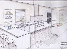 plans de cuisine ouverte plan de cuisine moderne modele cuisine ouverte meubles rangement