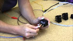 on off on rocker switch for automotive use with wiring products