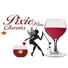 cartoon wine glass wine charms wedding glass decals holiday gifts by pixiewinecharms