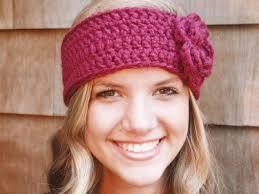 crochet headband crochet headband headwarmer earwarmer sized for and