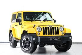 jeep rubicon yellow used 2015 jeep wrangler 2 8 crd x edition for sale in lothian