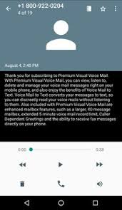 verizon visual voicemail android verizon visual voicemail apk free communication app for