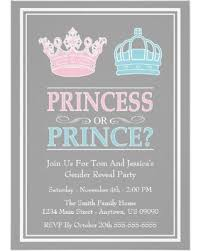 gender reveal party find the best savings on princess or prince gender reveal party